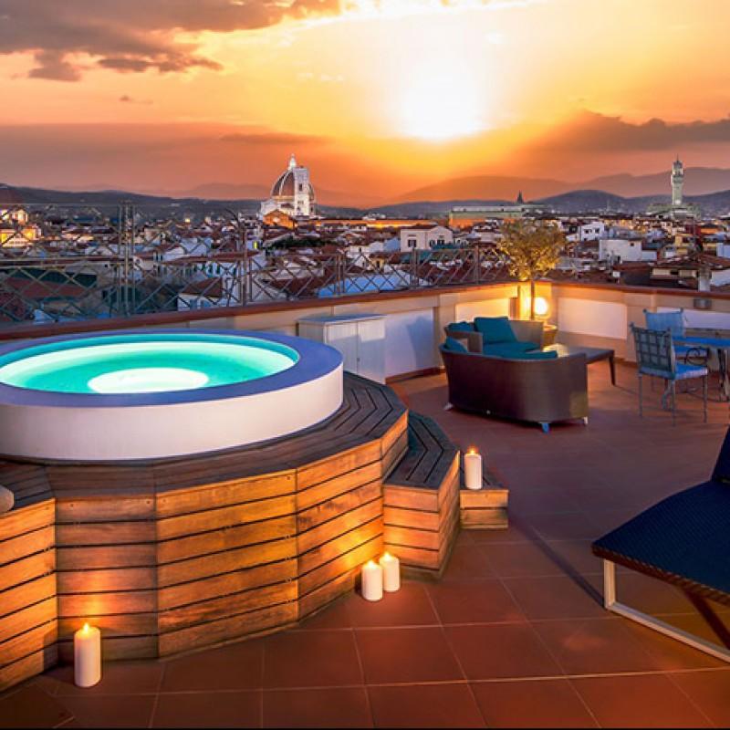 Soggiorno presso l'Hotel Westin Excelsior a Firenze