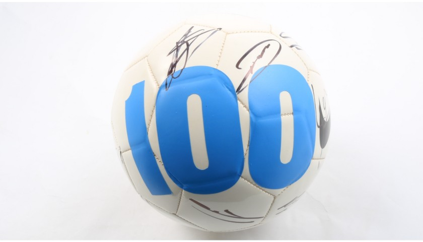 """Vintage Nike Football - Signed by Manchester City's """"Centurions"""" Team"""