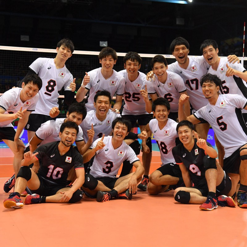 Official FIVB Volleyball Signed by the Japanese National Volleyball Team