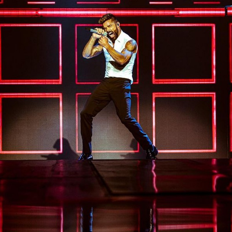 Sit in Ricky Martin's Personal Seats in Los Angeles on Nov 18th