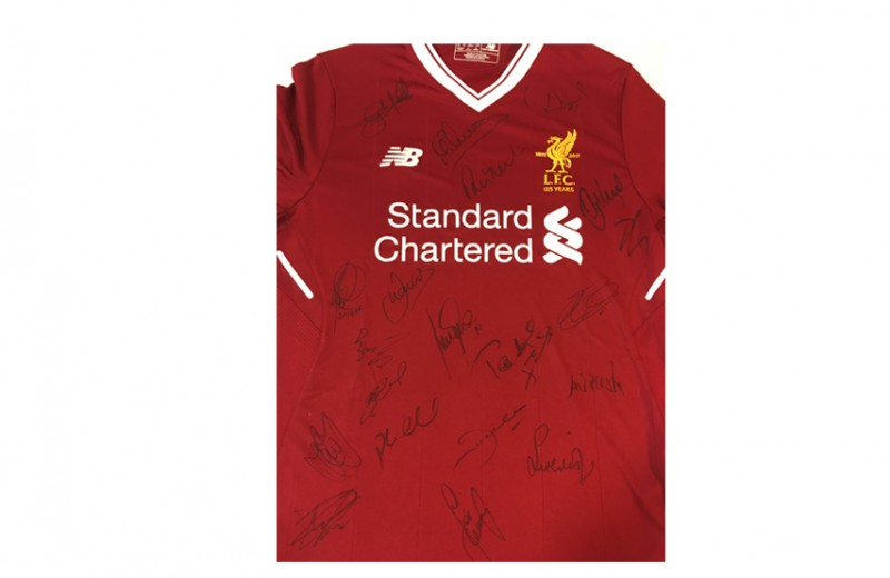 Signed LFC Legends 2018 Squad Shirt