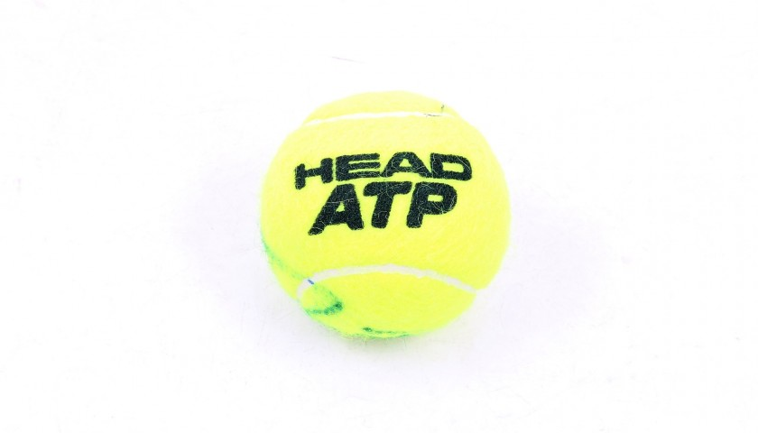 Head ATP Tennis Ball Signed by Rafael Nadal