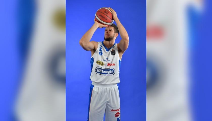 Completo da gara ufficiale De'Longhi Treviso Basket, indossato da Aleksej Nikolić nella stagione 2019/20 in Serie A