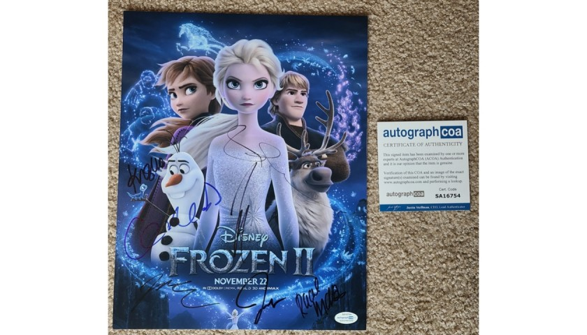 Frozen II Signed Poster