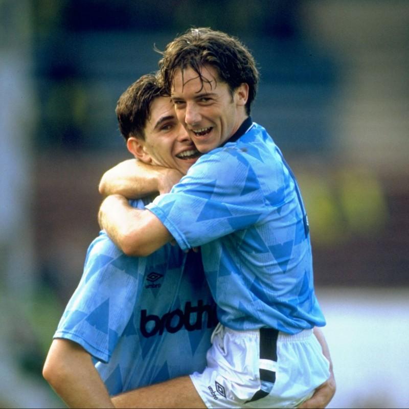 Manchester City Shirt, 1991/92
