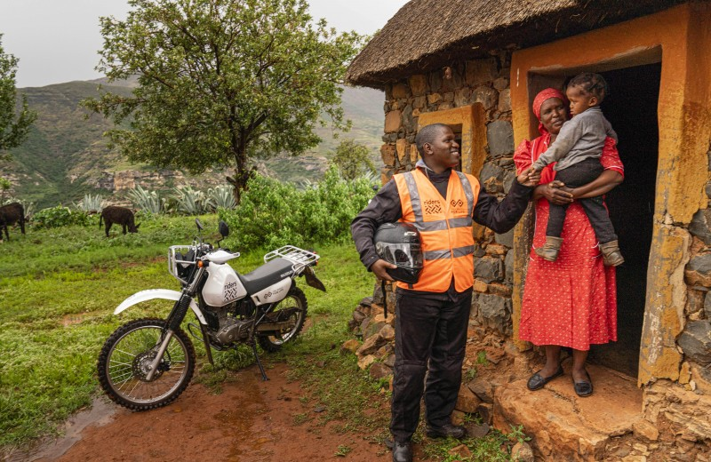 One Set of Protective Clothing for a Health Worker