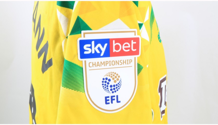 Stiepermann's Norwich Poppy Match Shirt - Signed