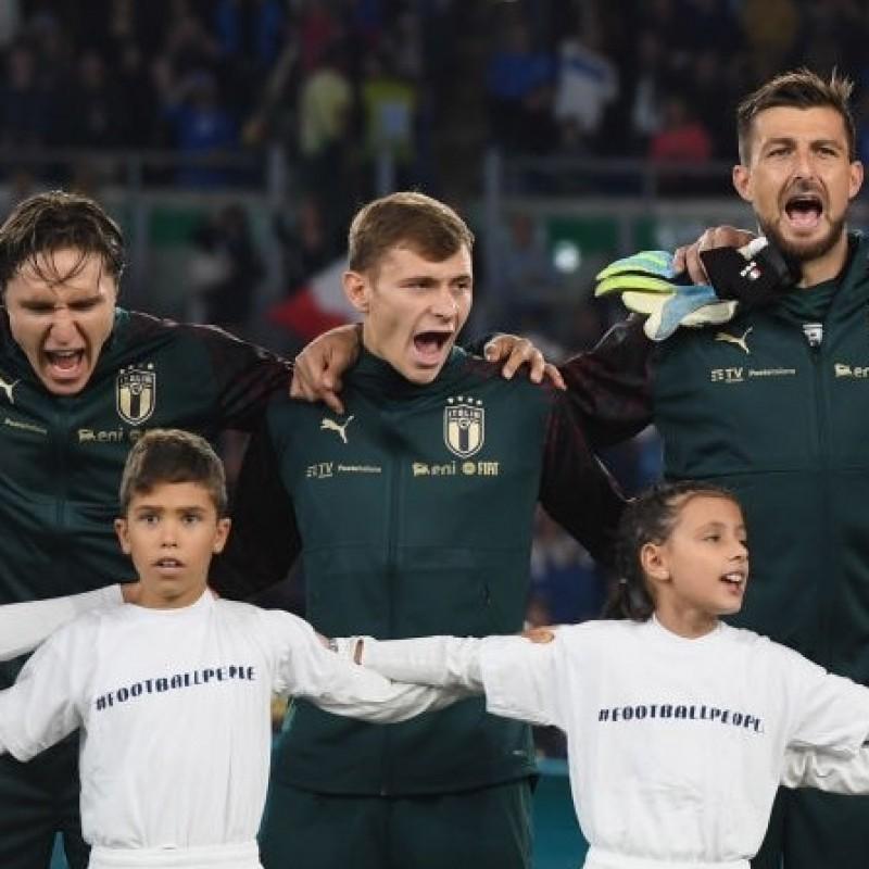Italian National Anthem Fleece, Italy-Greece 2019