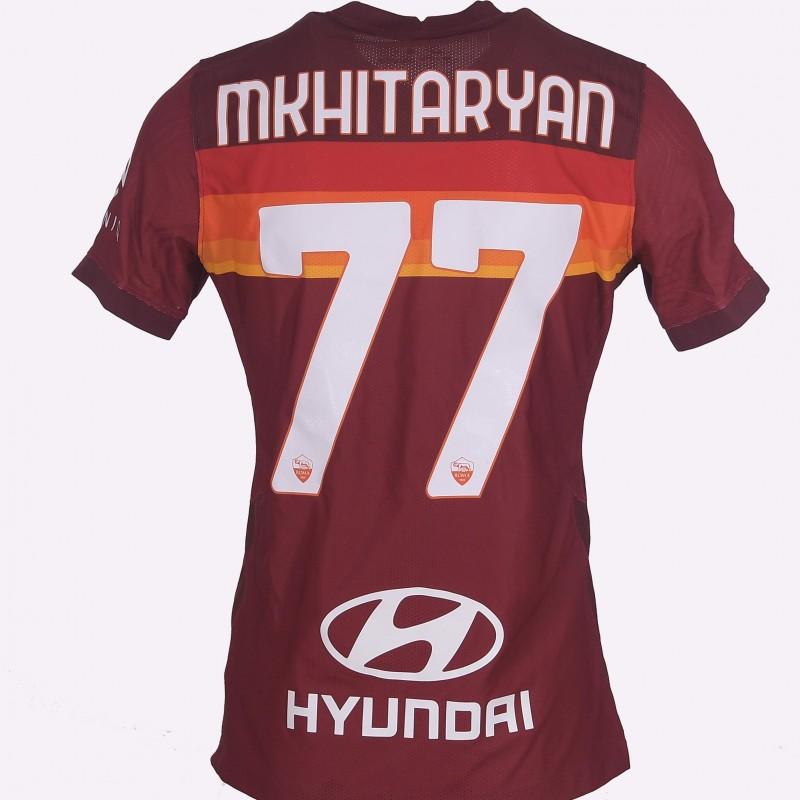 Mkhitaryan's Worn Shirt, Roma-Udinese 20/21