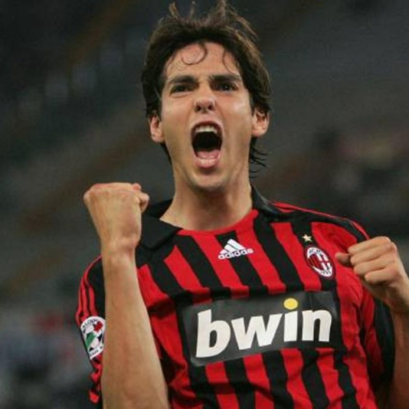 Kaká's Official Milan Signed Shirt, 2007/08