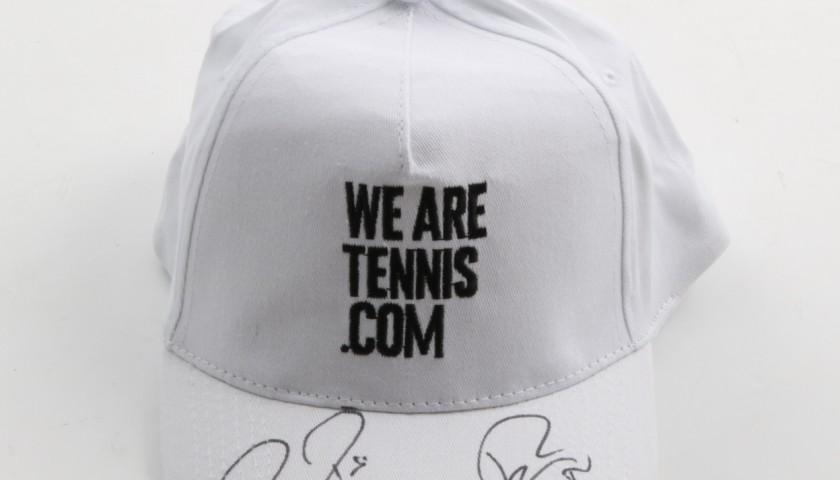 """Wearetennis.com"" hat signed by Nadal and Federer"