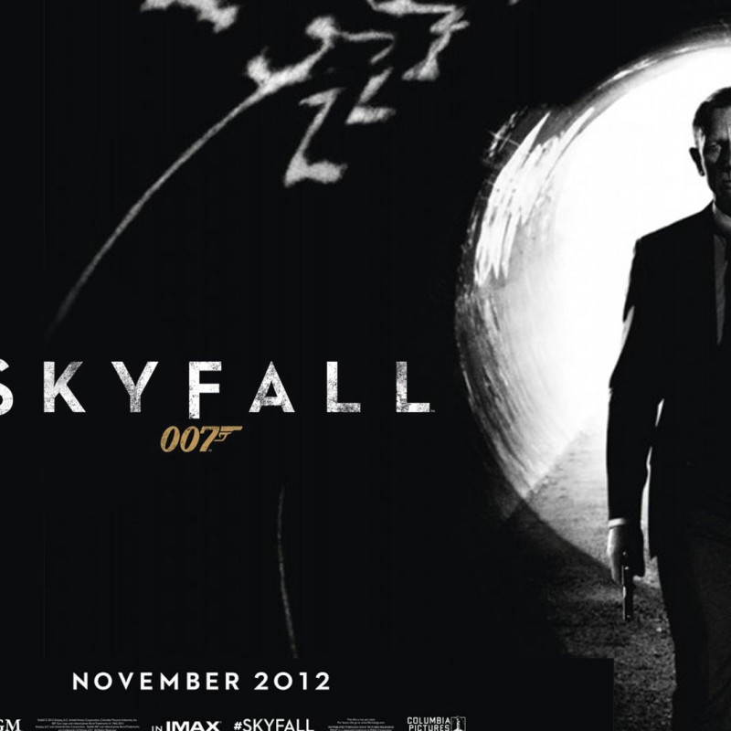 Production Used Sequence  of 10 Storyboards from James Bond: Skyfall (2012)