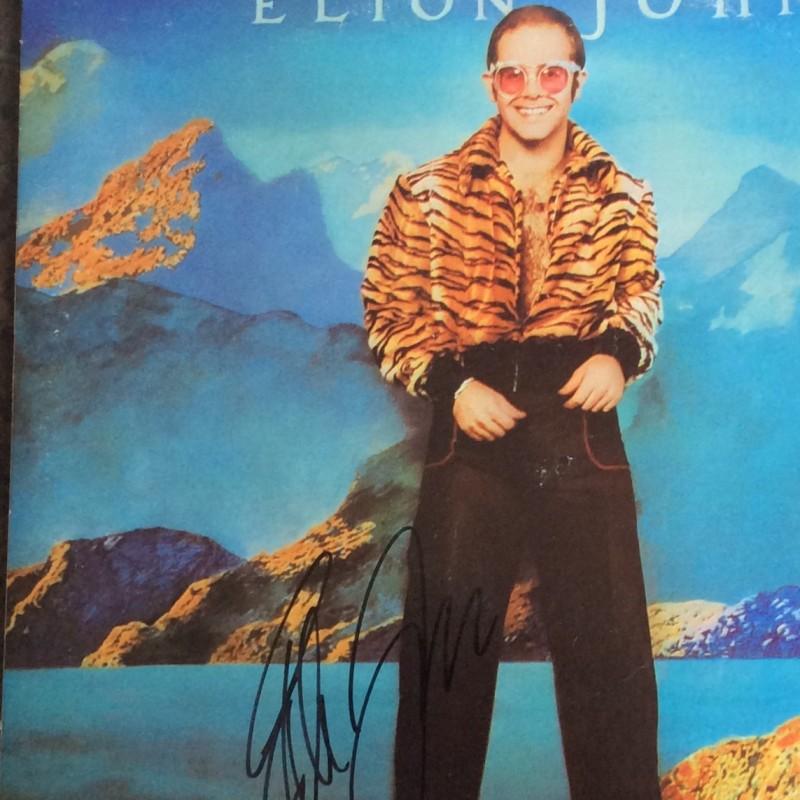 "Elton John Signed ""Caribou"" Vinyl"