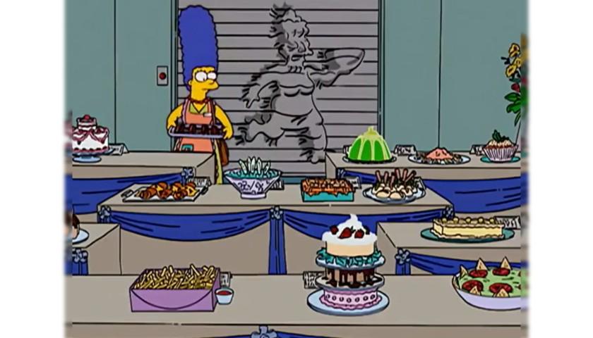 "The Simpsons Original Script - ""All's Fair in Oven War"""