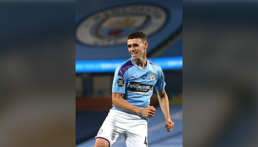 Win a Match-Issued Shirt Signed by Phil Foden