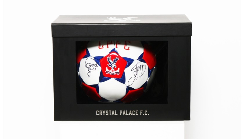 Crystal Palace FC Football Boxed & Signed by the Squad of 2017|18