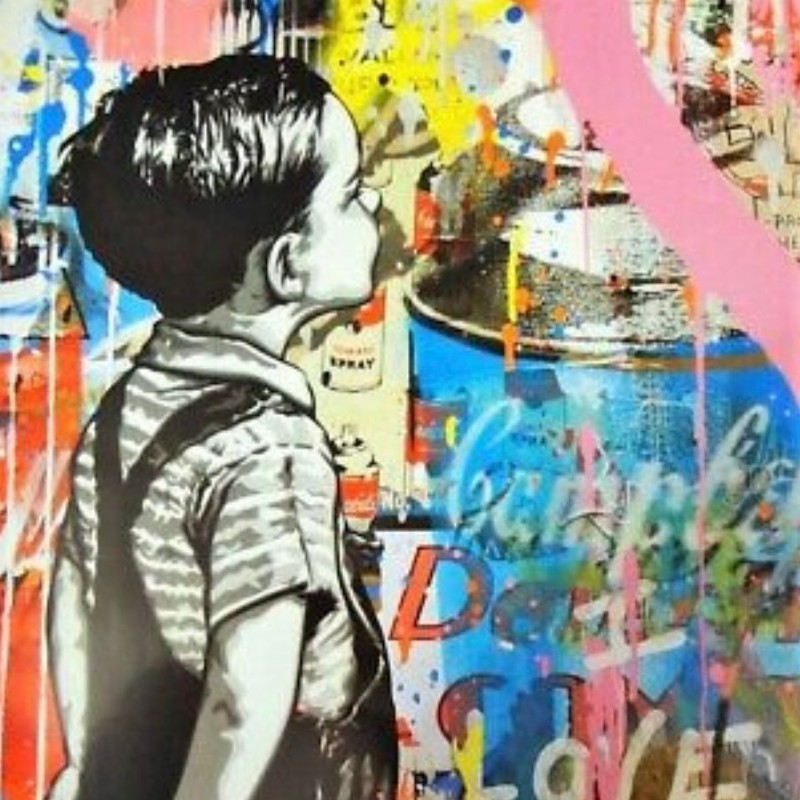 """""""With all my love"""" by Mr. Brainwash"""