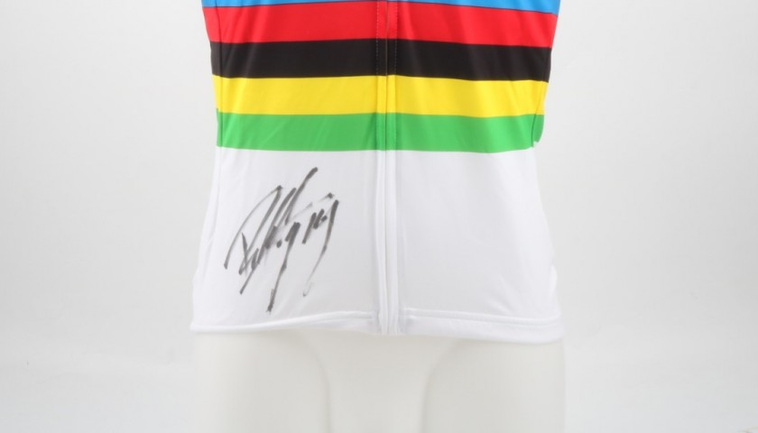 Official Peter Sagan World Champion Shirt, Signed