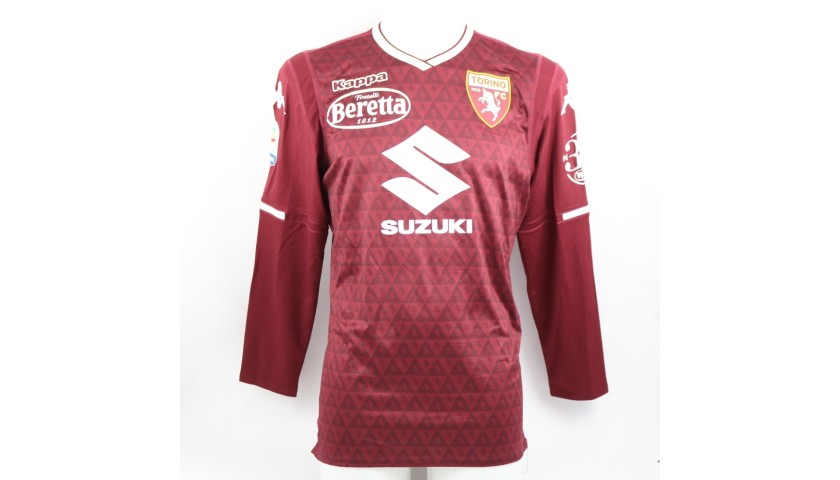 Damașcan's Torino Match-Issued Shirt, 2018/19