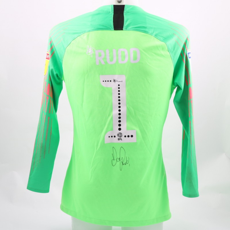 Rudd's Preston Worn and Signed Poppy Shirt