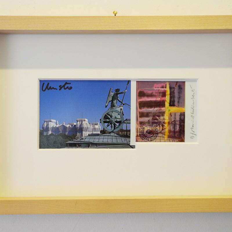 """Ready-Made Affezione n.219"" by Christo and Maurizio Galimberti"