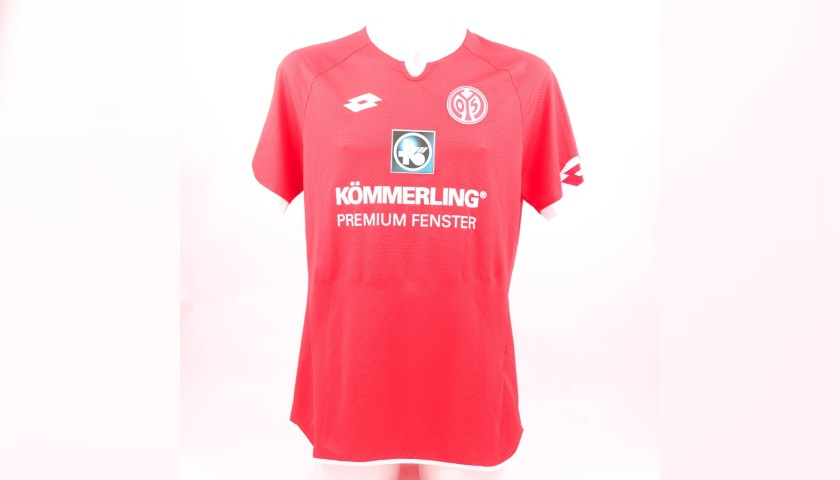 Jara's Match-Issue Shirt, Mainz-Lazio 2015