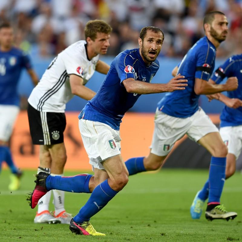 Chiellini's Match Shirt, Germany-Italy, Euro 2016