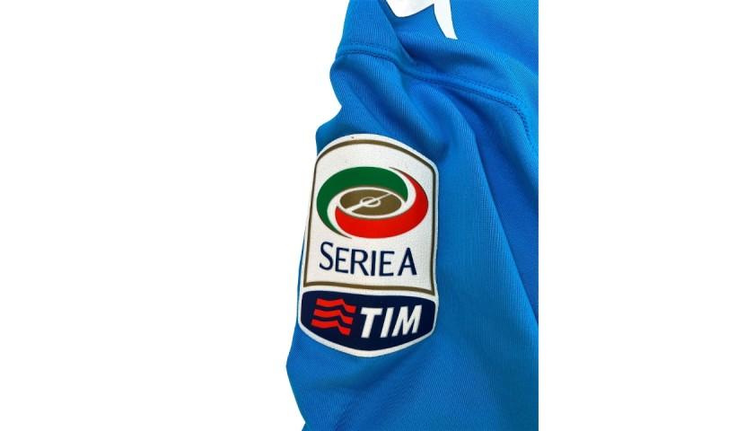 Higuain's Worn and Unwashed Shirt, Roma-Napoli 2016