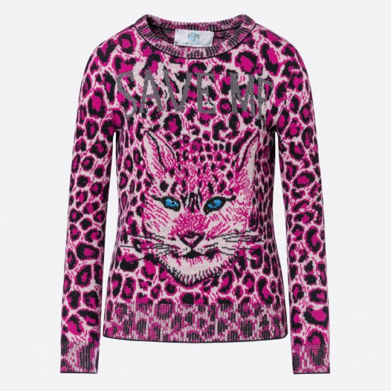 Love Me Wild Sweater by Alberta Ferretti