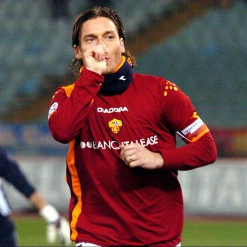 Totti's Roma Match Shirt, 2005/2006