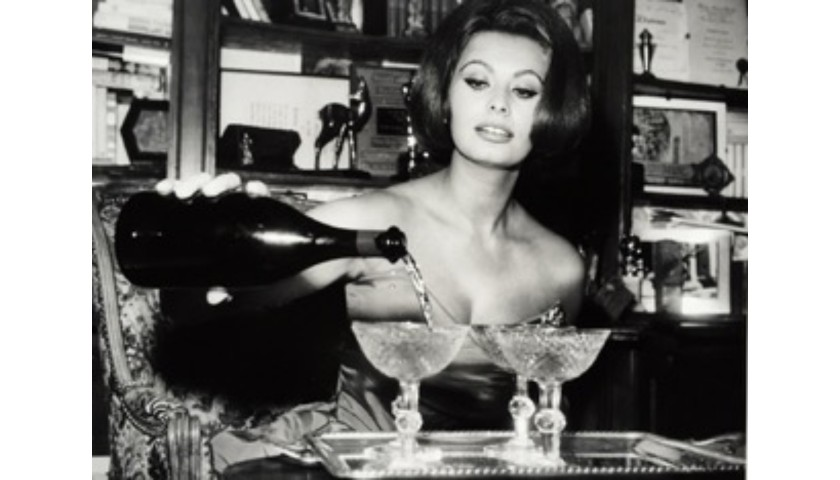 Sophia Loren Print from the Globe Photo Archives