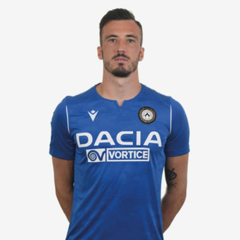 Perisan's Special Worn Shirt, Udinese Calcio -SPAL