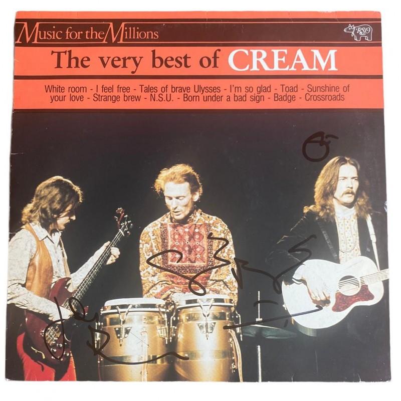 Cream Fully Signed The Very Best of Cream Vinyl LP