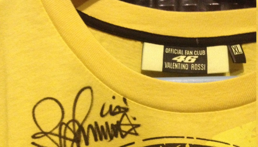 Official Valentino Rossi Fan Club shirt - signed