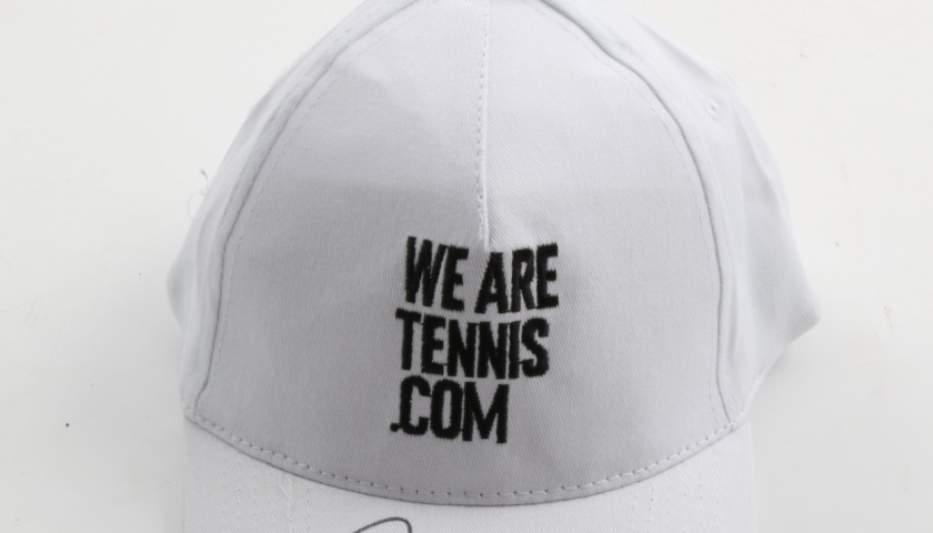 """Wearetennis.com"" hat signed by Nadal and Federer"