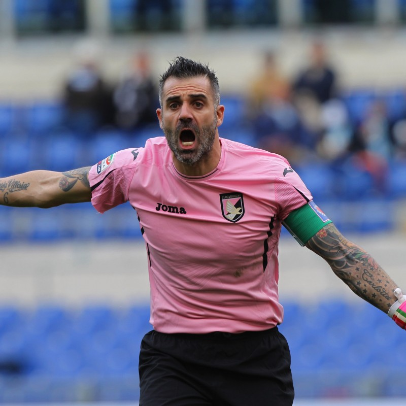 Official Sorrentino Palermo Shirt, 2015/16 - Signed