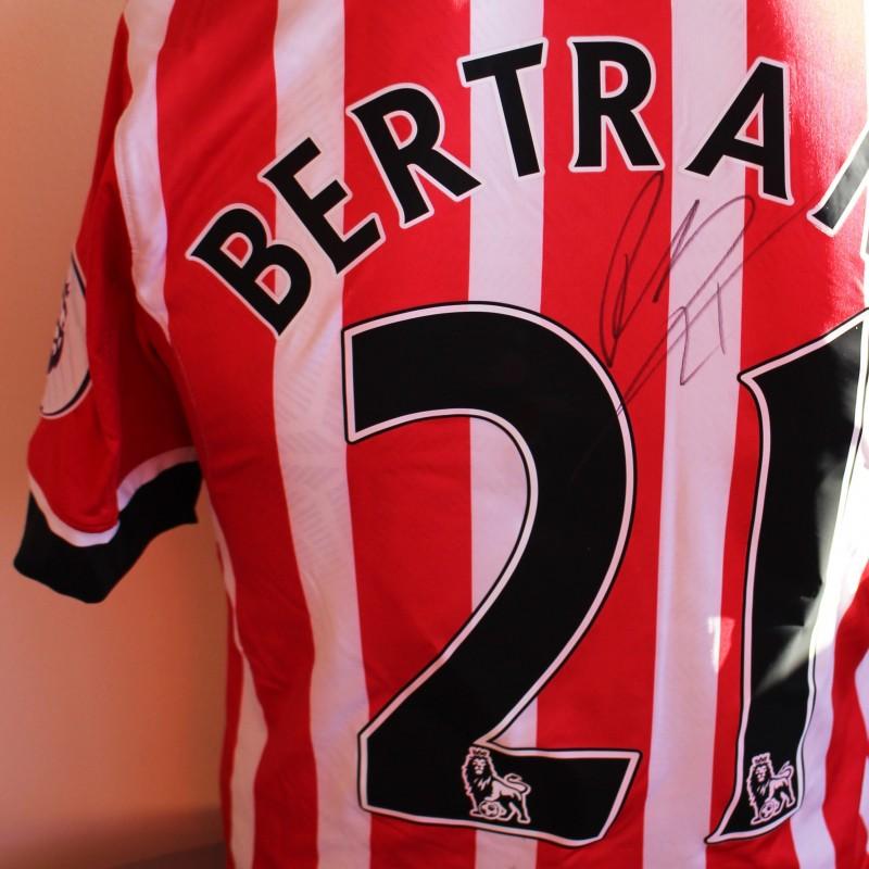 00b262836 Ryan Bertrand s Match Worn and Signed Southampton FC Poppy Shirt from ...