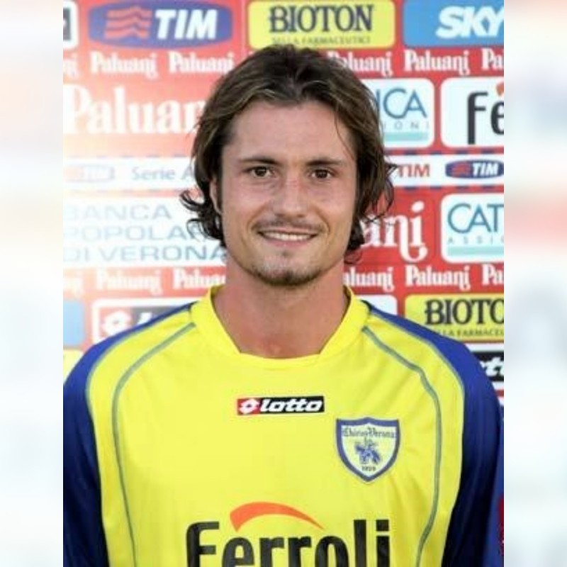 Moro's Chievo Verona Match Shirt, 2005/06