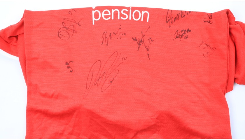 Crawley Town Official Poppy Shirt Signed by the Team