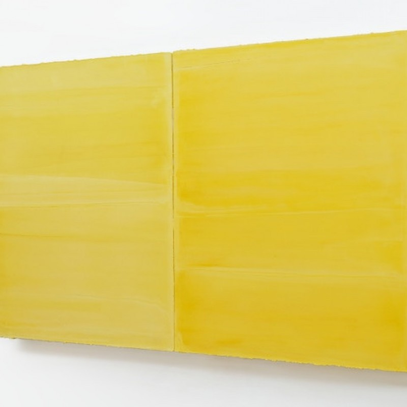 """Untitled"" Yellow Artwork by Willy De Sauter"