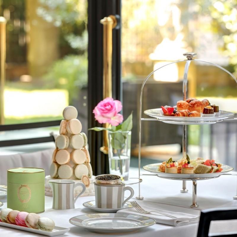 Afternoon Tea with Ladurée at Palazzo Parigi in Milan