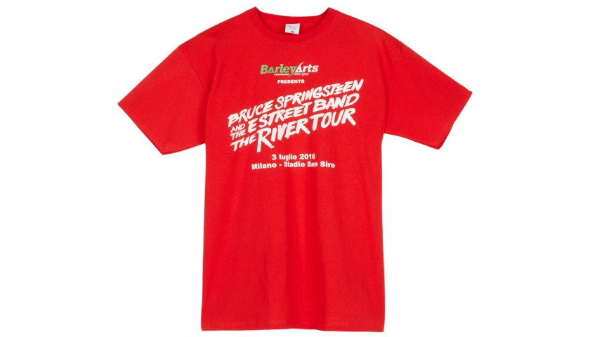 Staff T-Shirt from the Bruce Springsteen and the Estreet Band Tour 2016