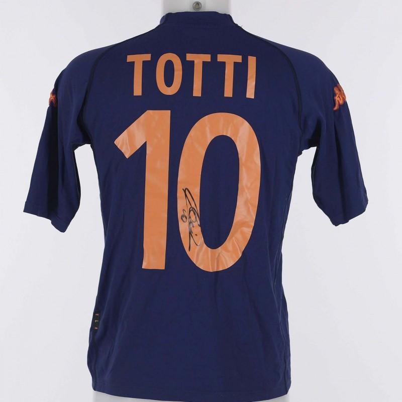 Francesco Totti's 2000/01 Signed Shirt