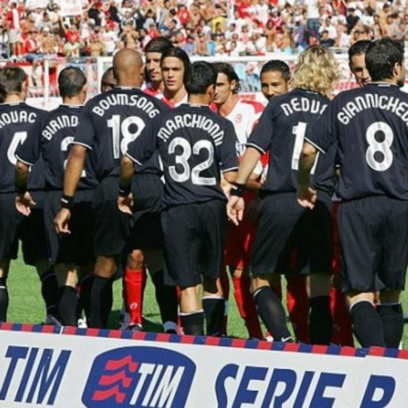 Marchionni's Juventus Match Shirt, TIM Cup 2006/07