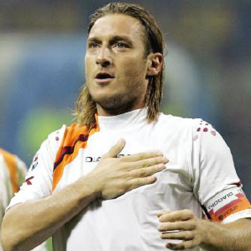 Totti's Roma Match Shirt, 2005/06