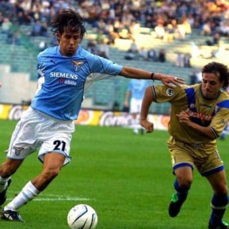 Maglia gara Guardiola, Lazio-Brescia 2001 - Autografata