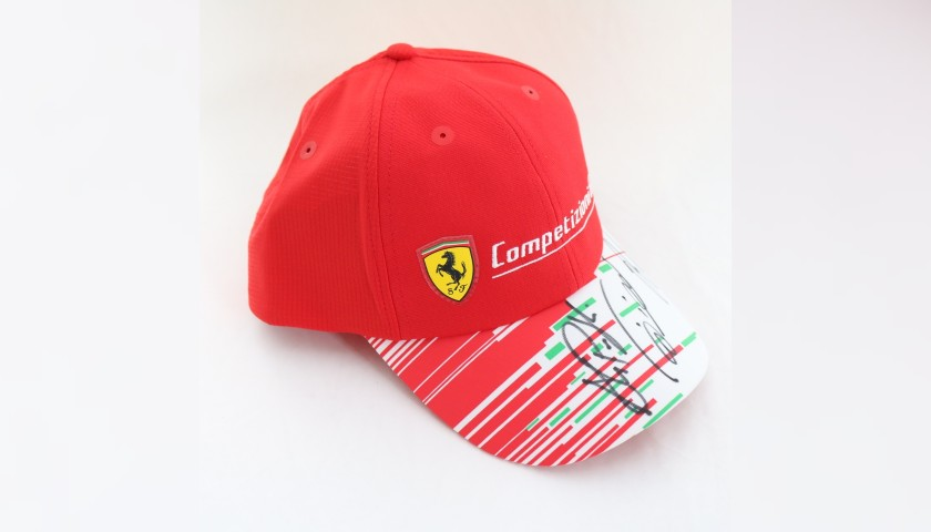 Ferrari GT Cap - Signed by the Drivers