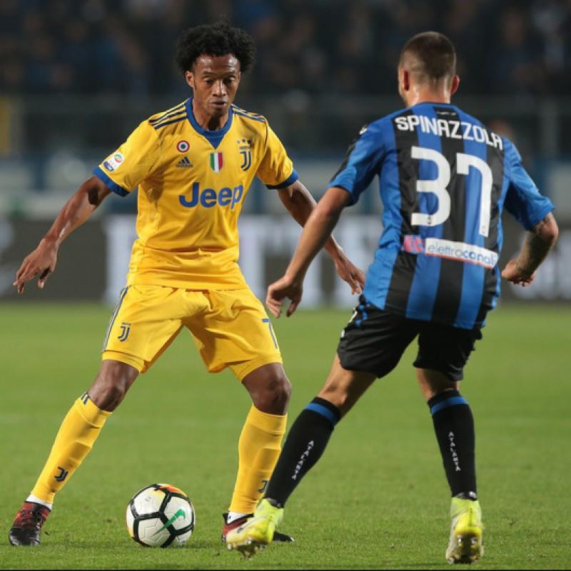 Spinazzola's Match-Worn 2017 Atalanta-Juventus Shirt, UNWASHED