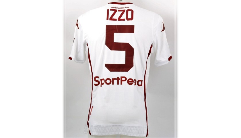 Izzo's Torino Match Shirt, Serie A 2018/19