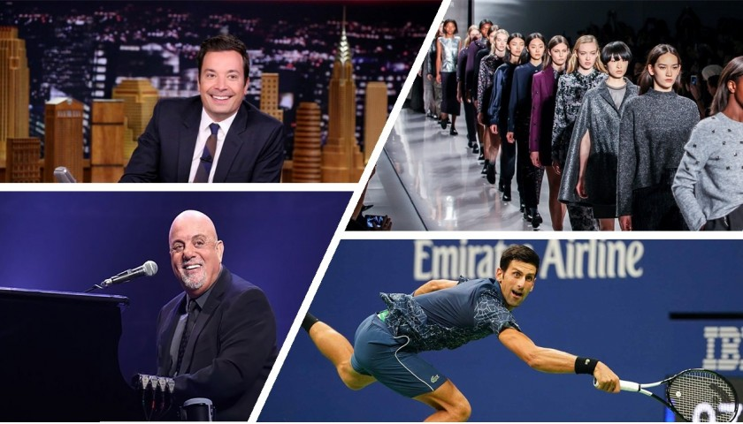 NYC Experience: Fashion Week, US Open, Billy Joel and Jimmy Fallon